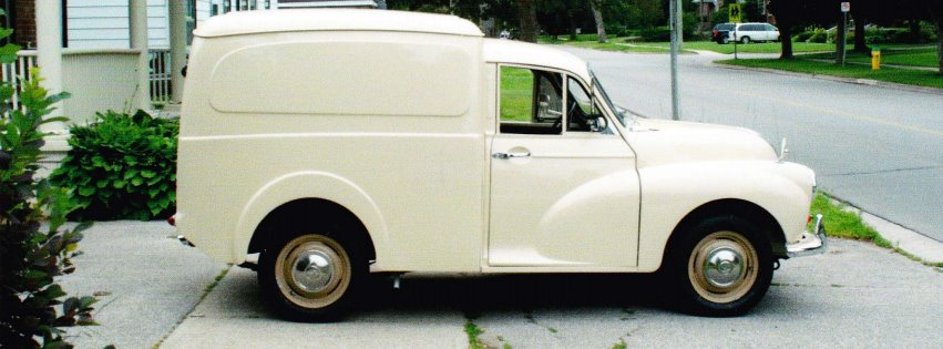 1959 Morris Minor Van ... my Elsie