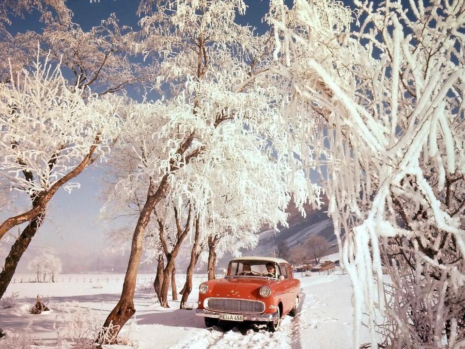 1957-1960 Opel Olympia Rekord