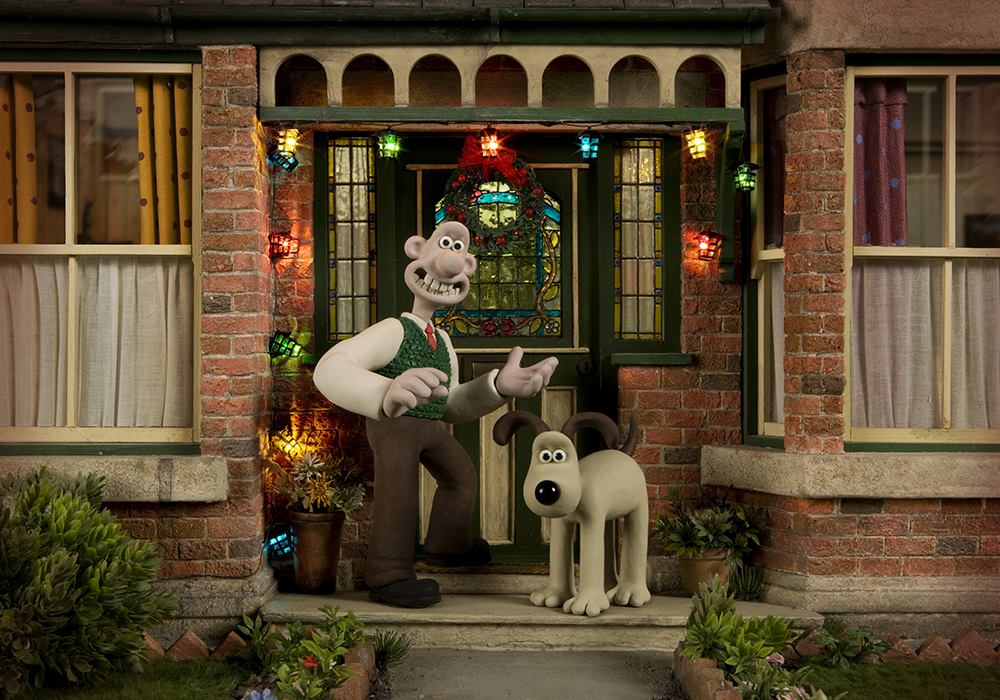 Wallace and Gromit Christmas Lights