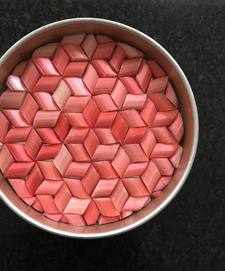 Tessellated Rhubarb